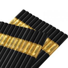 【10双】 合金筷子家用筷条合金快子防滑耐用不发霉