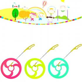儿童滚铁环手持风火轮童年玩具怀旧