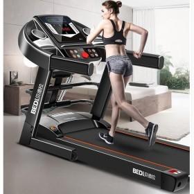 电动跑步机家用免安装多功能迷你静音健身运动器材