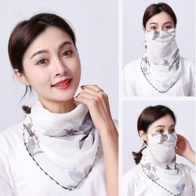 多功能防晒护颈口罩女