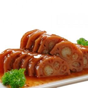 扬州宝应特产400克到500克袋桂花糯米藕蜜汁糖藕