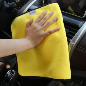 洗车毛巾擦车巾加厚吸水不掉毛清洗汽车擦玻璃不留