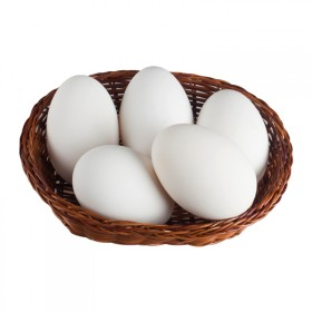 鹅蛋农家散养新鲜去纯胎毒孕妇 天然生的6枚超大特大