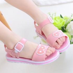女童凉鞋公主鞋夏新款女童沙滩鞋防滑软底宝宝凉鞋