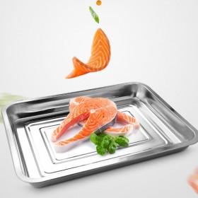 6个方盘长方形盘菜盘鱼盘餐盘果盘家用烧烤盘