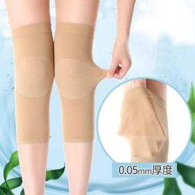 1双护膝夏季空调房护膝打底女士无痕超薄老寒腿关节腿