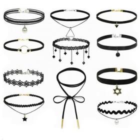 五件套项链女锁骨链项圈脖子饰品颈链