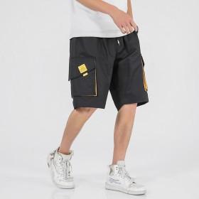 男士工装短裤夏季韩版潮流五分裤休闲运动裤大码宽松直