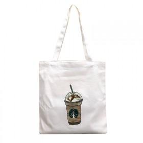 定做帆布袋培训广告环保袋DIY帆布包文艺棉布袋手提