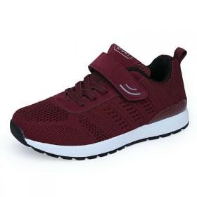 男女鞋老人健步鞋户外运动休闲跑步鞋透气舒适网面减震