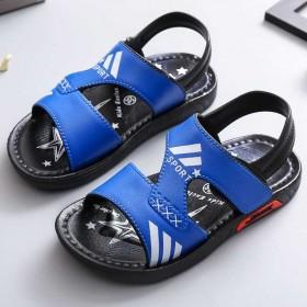 夏季儿童凉鞋男女童沙滩凉鞋小中大童防滑耐磨凉鞋