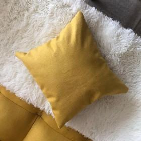 沙发抱枕靠枕床头靠垫北欧风格纯色抱枕