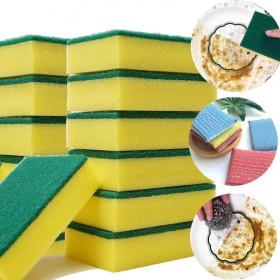 【抢完就涨】6片加厚洗碗海绵擦百洁布双面洗碗布吸水