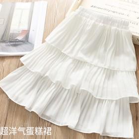 女童半身裙新款洋气蛋糕裙
