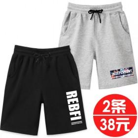男童短裤夏薄款儿童五分裤2019新款大童运动童装