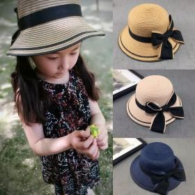 儿童公主亲子款帽子春夏宝宝太阳帽凉帽遮阳