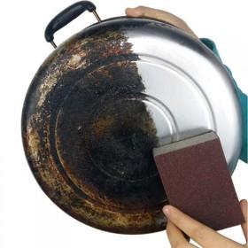 纳米金刚砂除垢清洁厨房刷锅擦锅洗碗海绵魔力擦