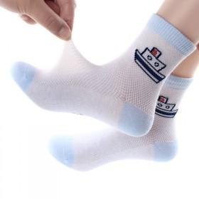 5双装儿童袜子春秋男童中筒袜男孩女孩宝宝童袜女童小