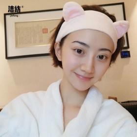 韩国猫耳朵束发带可爱卖萌发箍洗脸头巾头箍刘海发箍头