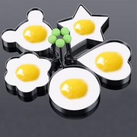 随机三个款宝宝早餐厨房不锈钢煎蛋器荷包蛋模型