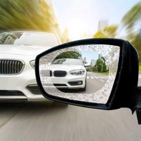 汽车后视镜防雨防雾膜防目眩倒车镜反光镜防水驱水剂