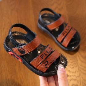 韩版儿童凉鞋软底沙滩防滑外穿中小童宝宝凉拖鞋