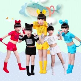 六一儿童小动物演出服幼儿园表演服装衣服