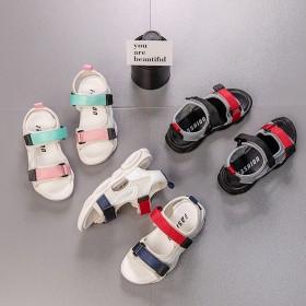 儿童凉鞋夏季新款男童沙滩鞋女宝宝镂空凉鞋