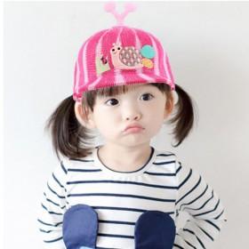 儿童帽子男童女童韩版夏薄款宝宝网帽棒球帽遮阳防