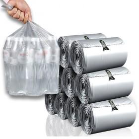 植护大垃圾袋110只单卷一次性日用家居平口塑料袋垃