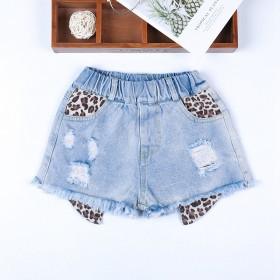 女童牛仔短裤2019新款中大童夏季韩版百搭洋气薄款