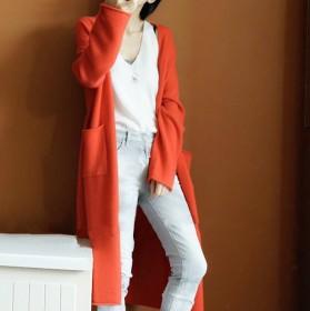 网红爆款羊毛开衫外套中长款送运费险不满意包退