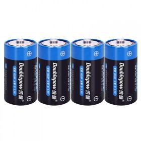 4颗1.5V1号电池热水器燃气灶手电筒收音机干电池