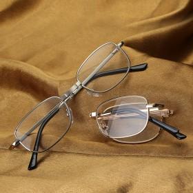 老花镜超轻便携折叠全框老花眼镜高清树脂片老人眼镜