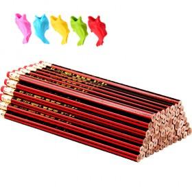 【50支装】小学生红木HB铅笔儿童学习文具用品