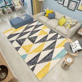 北欧简约门厅水洗地毯