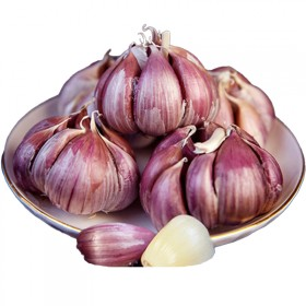 大蒜新鲜独头紫皮蒜农家特产佐料调味品火锅食材5斤包