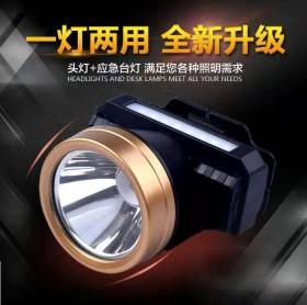 led头灯强光可充电式超亮夜钓鱼灯头戴式手电筒远射