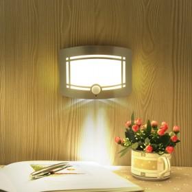 LMK)led小夜灯人体感应灯床头阳台过道灯壁灯