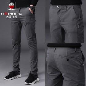 AEMAPE美国苹果夏季新款超薄男士休闲裤冰丝透气