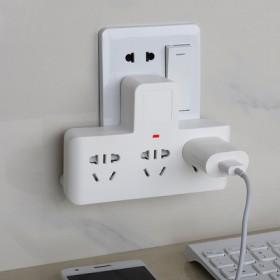 【包邮】usb插座转换器插头一转三多功能插座面板