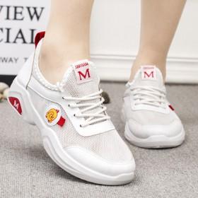 网红小黄鸭女鞋镂空透气单鞋