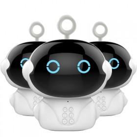 儿童智能机器人早教故事机语音对话WIFI学习同步课