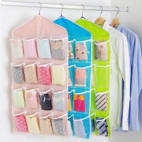 【限时亏本冲量 2个装】衣柜挂袋 内衣袜子分层