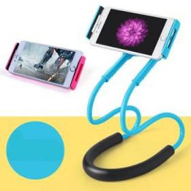 车载手机颈挂支架 懒人挂脖手机支架 新款创意床头