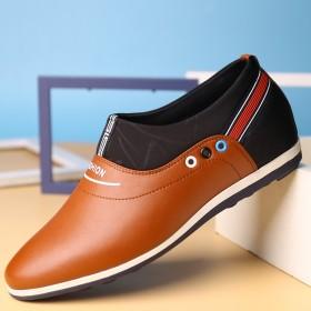男鞋內增高鞋子白鞋青年板鞋增高鞋6厘米休閑男士正裝