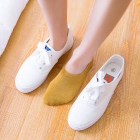10双女韩版短袜船袜夏季潮流日系浅口防滑低帮隐形袜