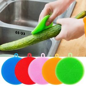 硅胶洗碗刷百洁布刷锅神器洗锅去污刷