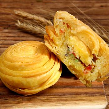 寿县特产历史名点春申府大救驾传统美食纯手工糕点