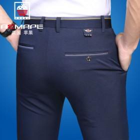【AEMAPE】美国苹果春秋款休闲裤男士弹力修身裤